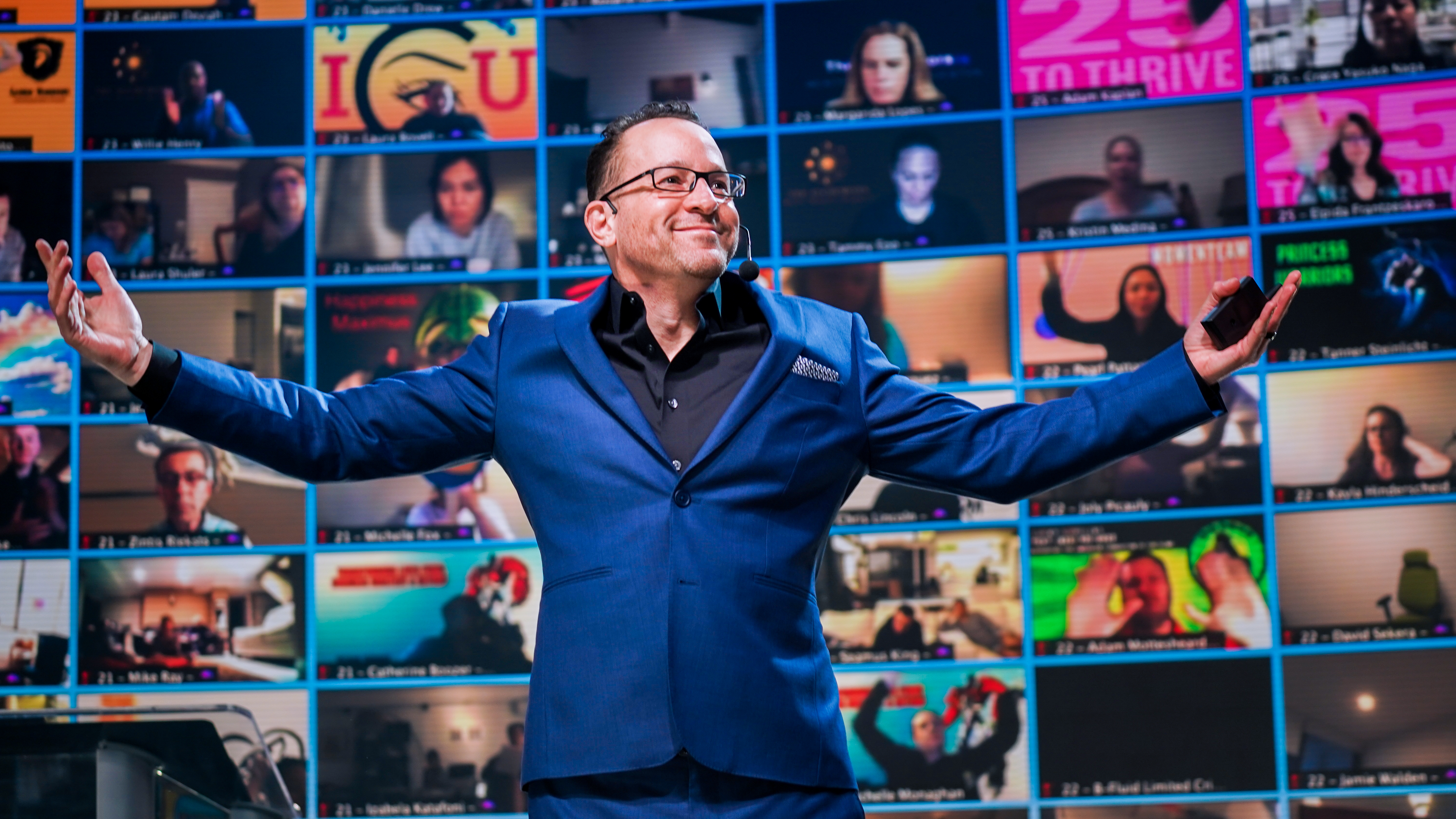 BOOM! Todd Hartley dazzles at Tony Robbins' Business Mastery event.
