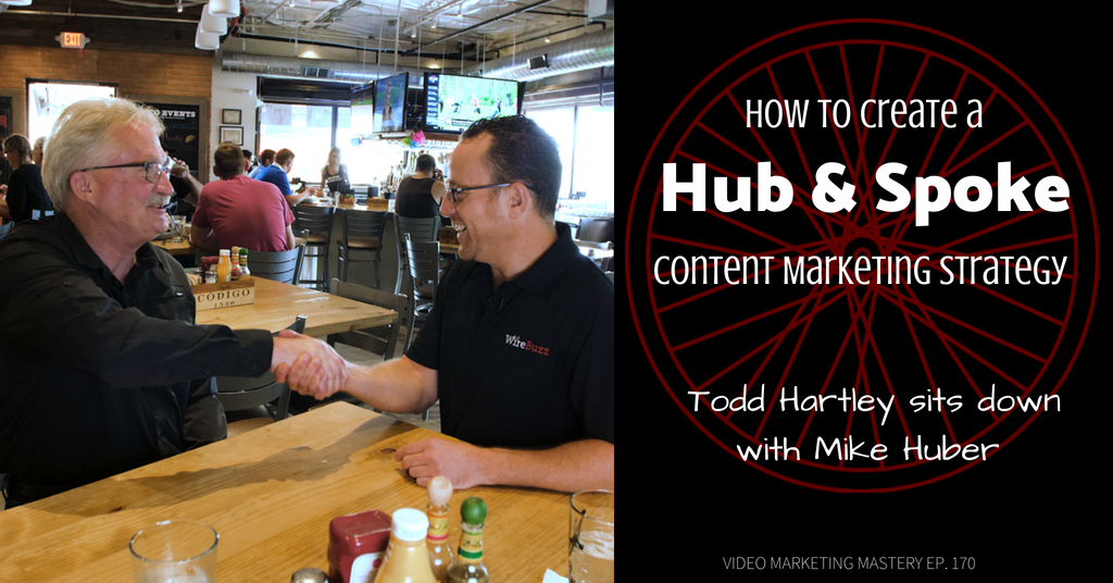 How to Create a Hub and Spoke Content Marketing Strategy, with Mike Huber (Ep. 170)