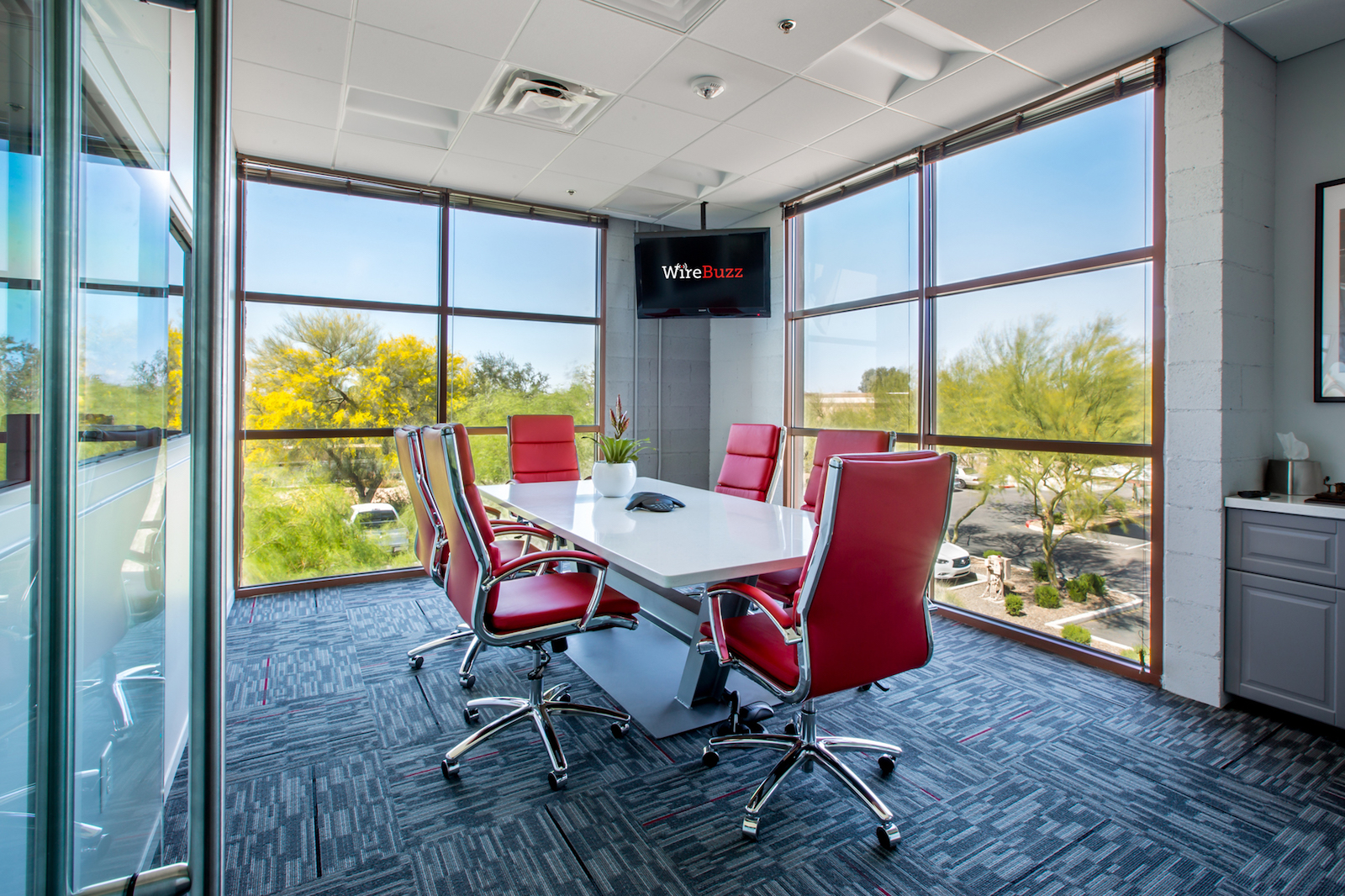 WireBuzz Conference Room
